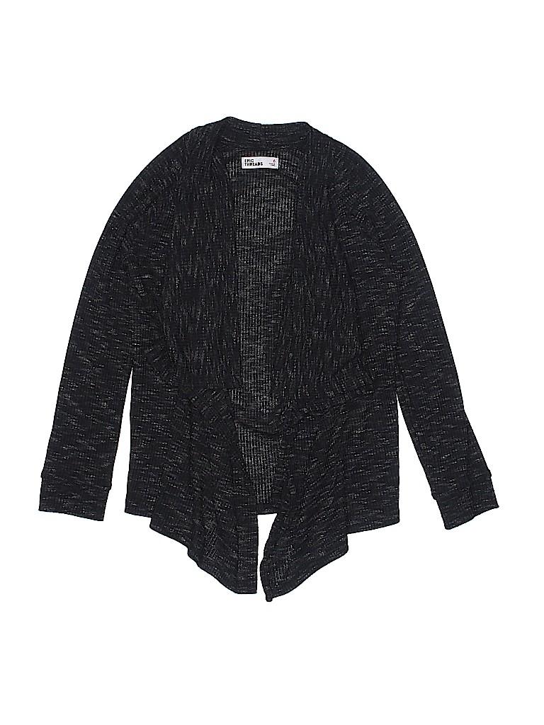 Epic Threads Girls Cardigan Size 6