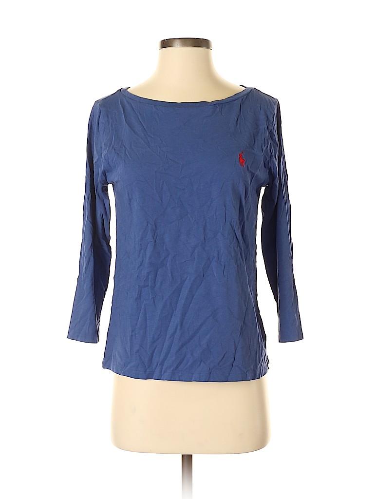 Polo by Ralph Lauren Women 3/4 Sleeve T-Shirt Size M