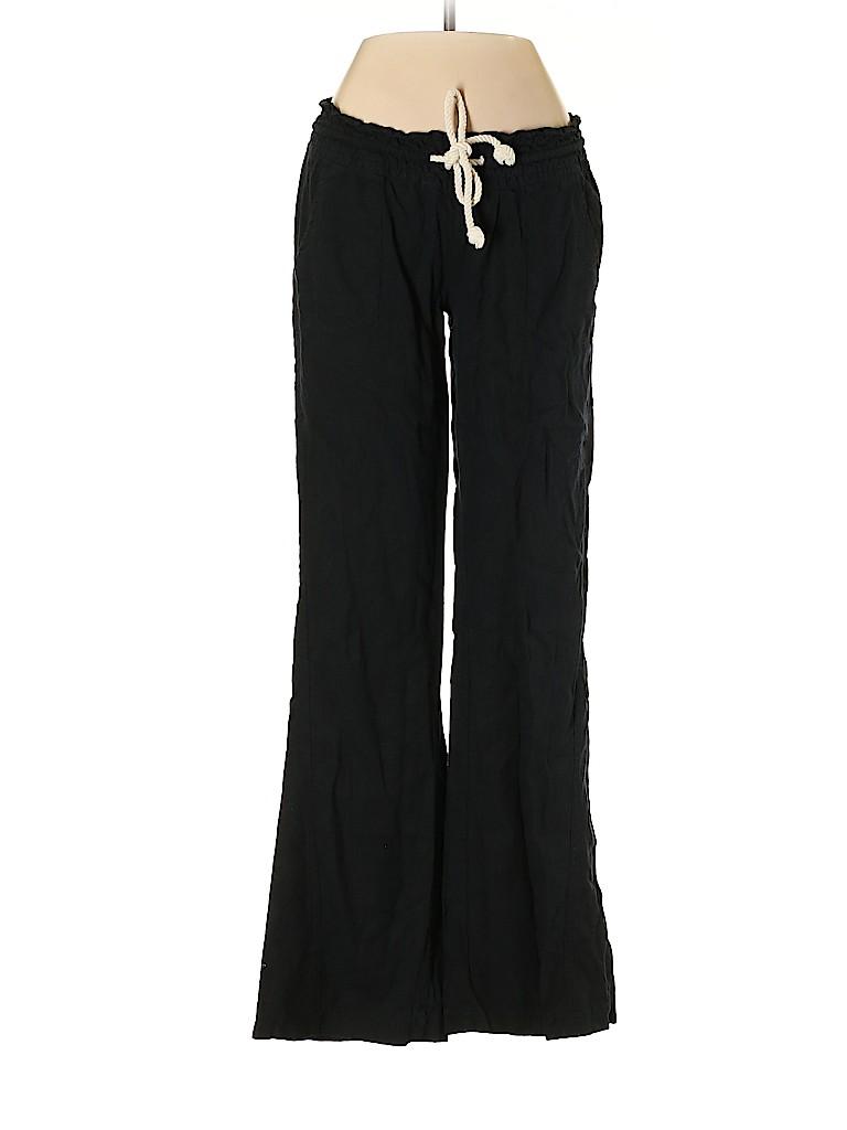 Roxy Women Linen Pants Size XS