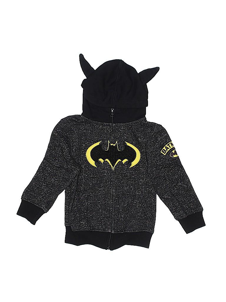 Batman Boys Zip Up Hoodie Size 4