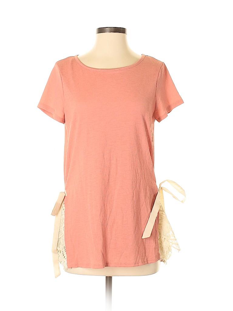 LC Lauren Conrad Women Short Sleeve Top Size S