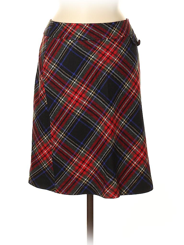 L.L.Bean Women Wool Skirt Size 8
