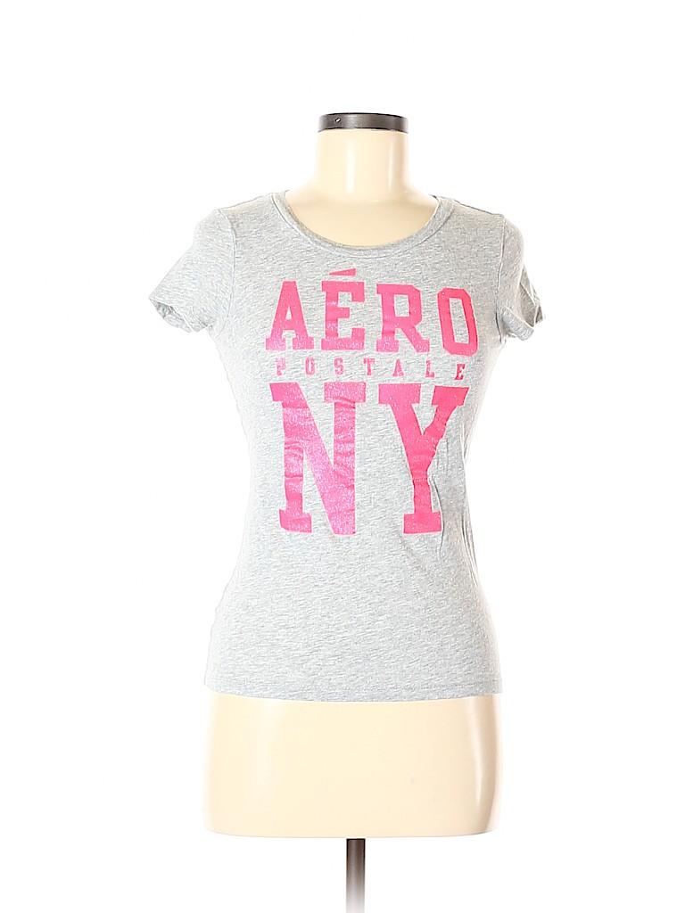 Aeropostale Women Short Sleeve T-Shirt Size M