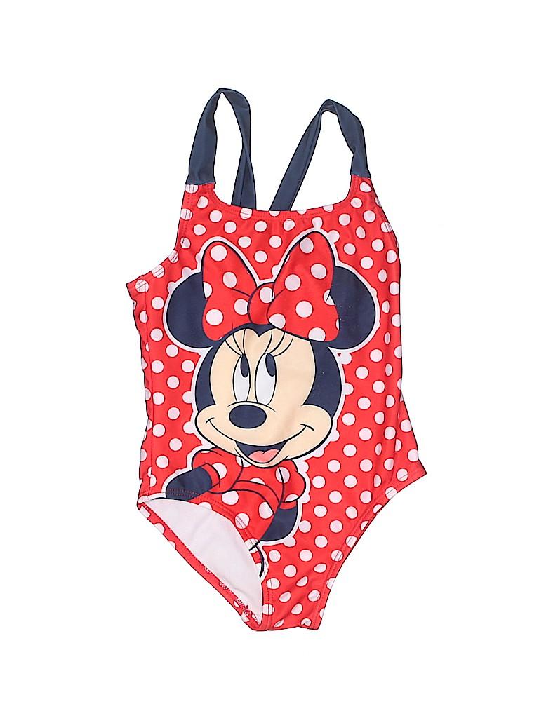 Disney Girls One Piece Swimsuit Size 4