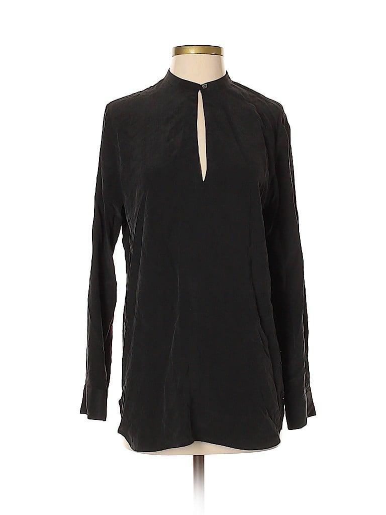 Everlane Women Long Sleeve Silk Top Size 4