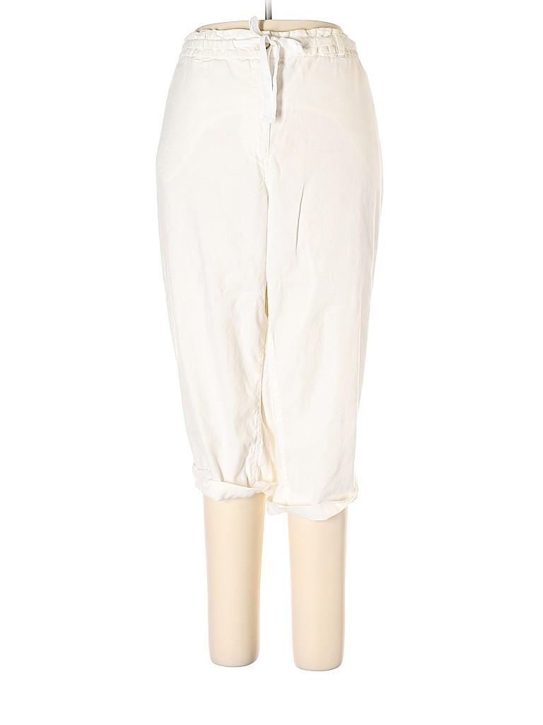 Lands' End Women Linen Pants Size 26W (Plus)