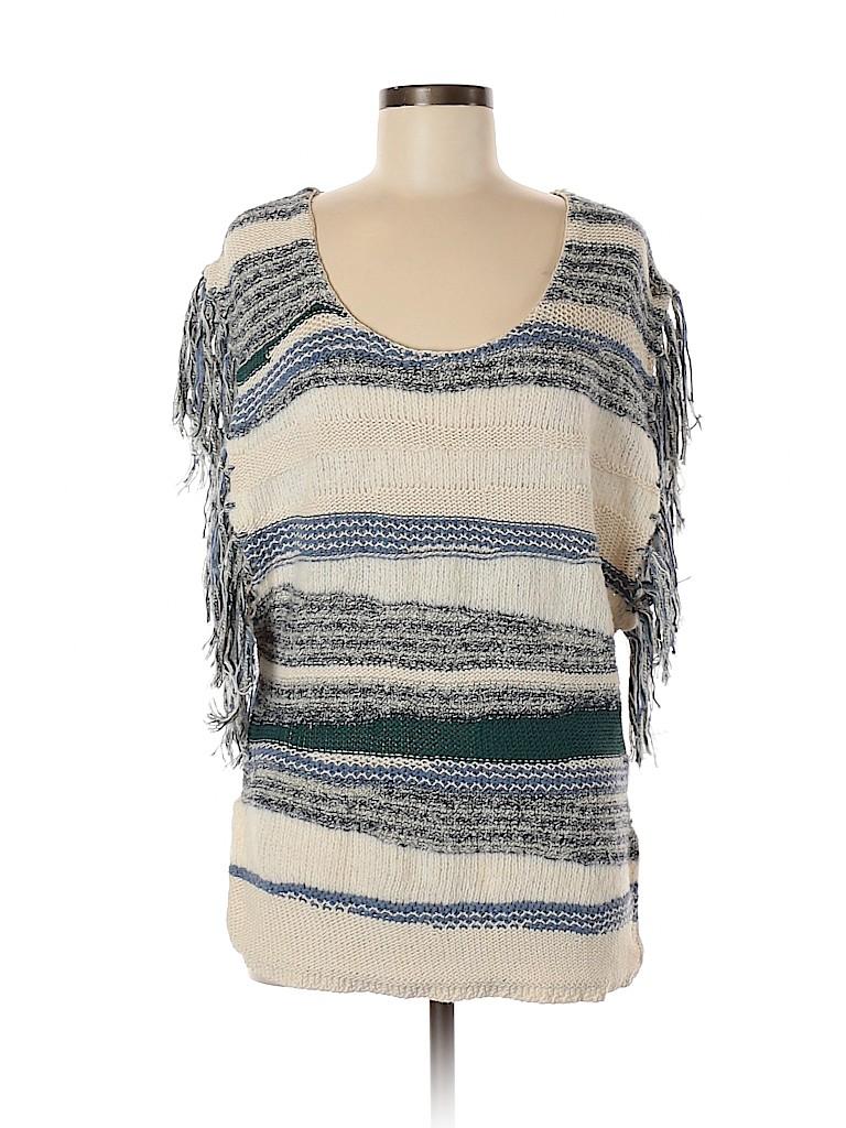 Ecote Women Short Sleeve Top Size M