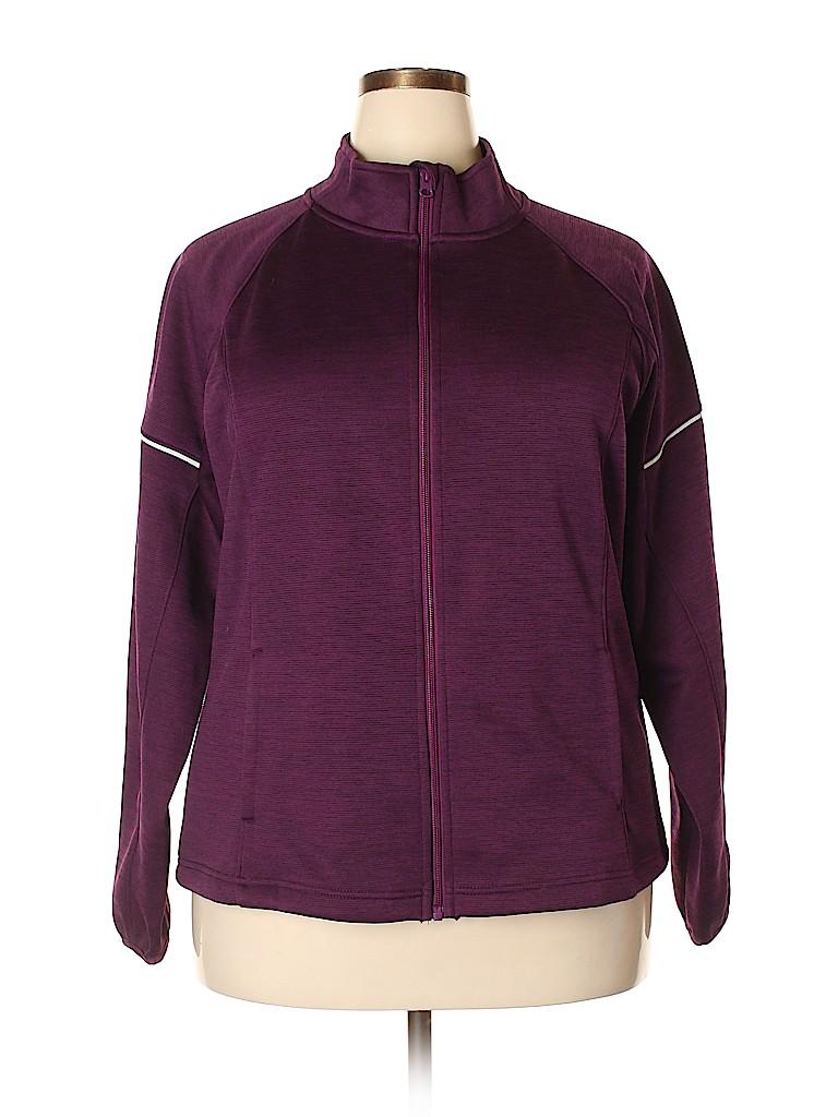 Danskin Women Track Jacket Size XXL