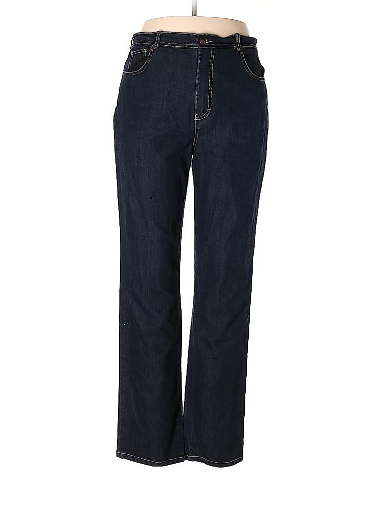 Gloria Vanderbilt Women Jeans Size 14 LONG