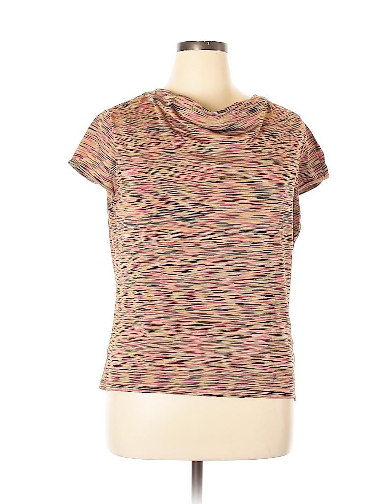 Jones New York Collection Women Short Sleeve Top Size XL