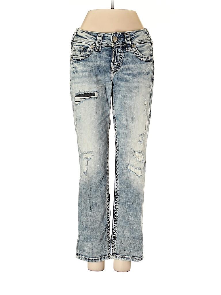 Silver Jeans Co. Women Jeans 25 Waist