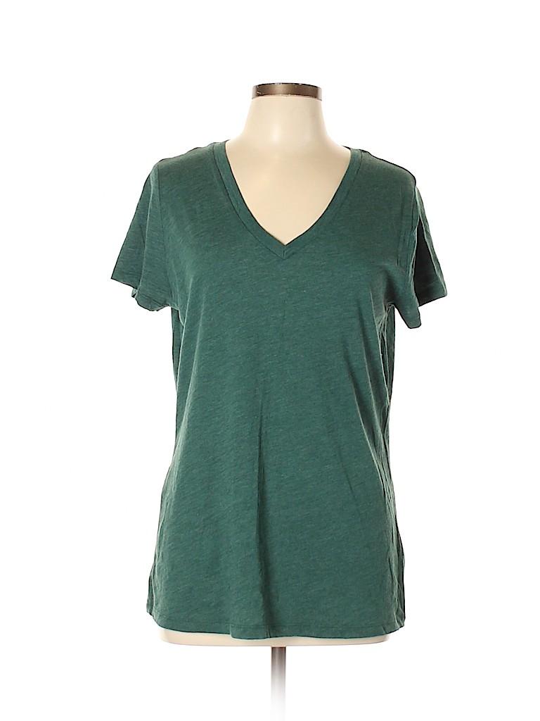 Mossimo Supply Co. Women Short Sleeve T-Shirt Size XL