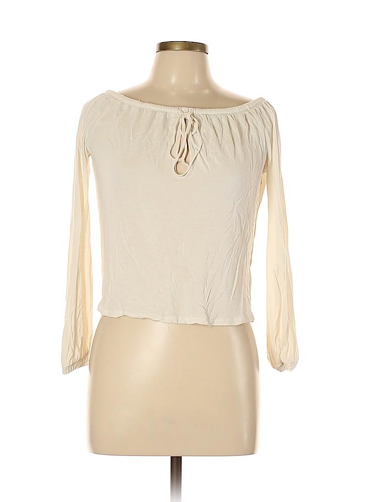 Ecote Women Long Sleeve Top Size M