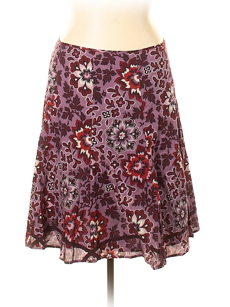 Liz & Co Women Casual Skirt Size 16