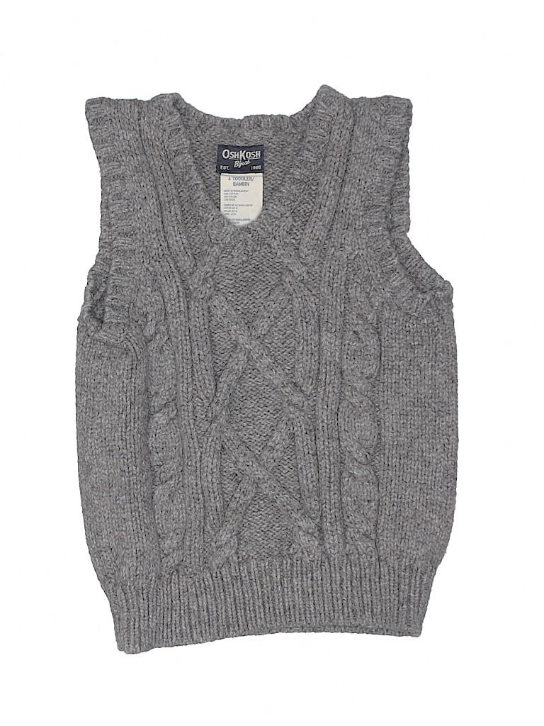 OshKosh B'gosh Boys Sweater Vest Size 4T