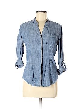 a273e5efb2d Dockers Long Sleeve Button-Down Shirt Size M (Petite)