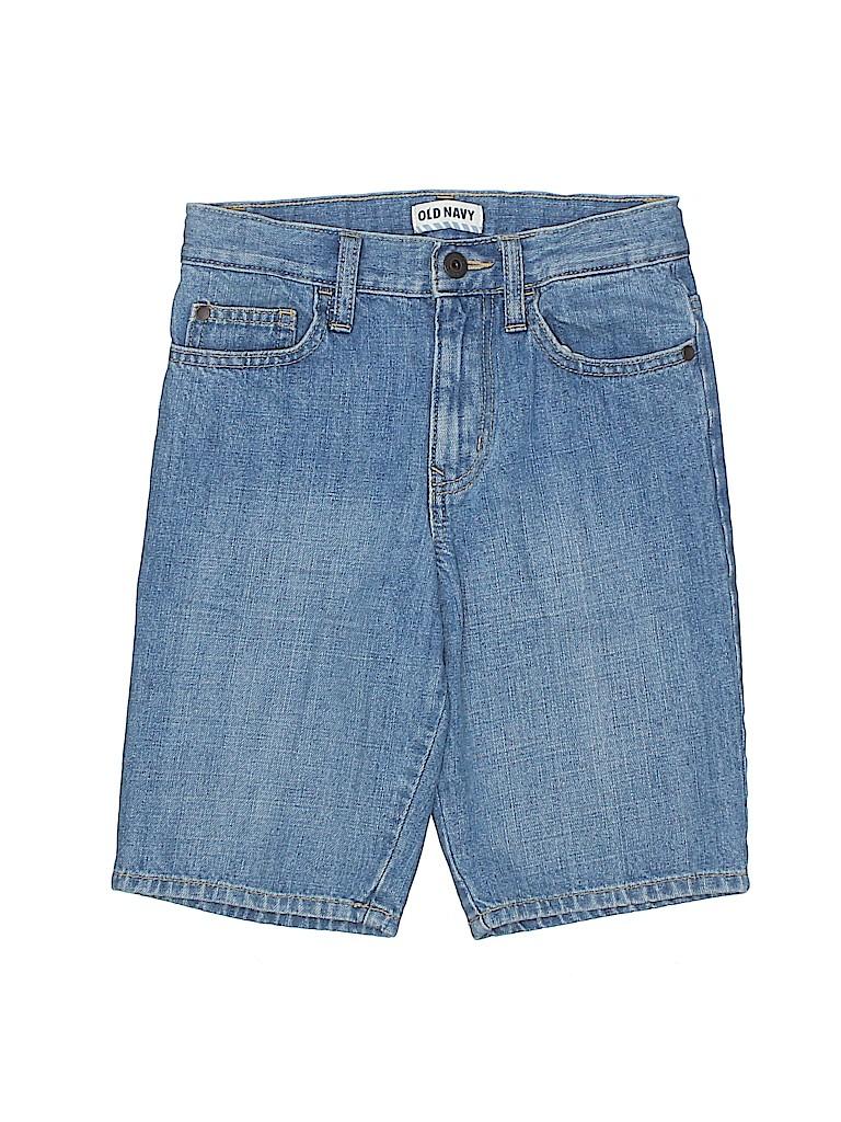 Old Navy Boys Denim Shorts Size 8