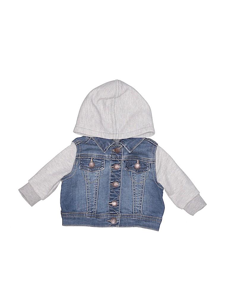 Tucker + Tate Girls Denim Jacket Size 3 mo