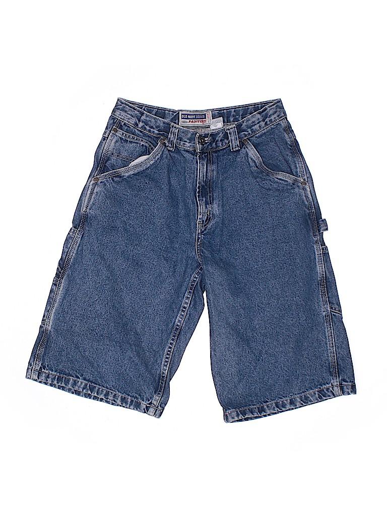 Old Navy Boys Denim Shorts Size 16