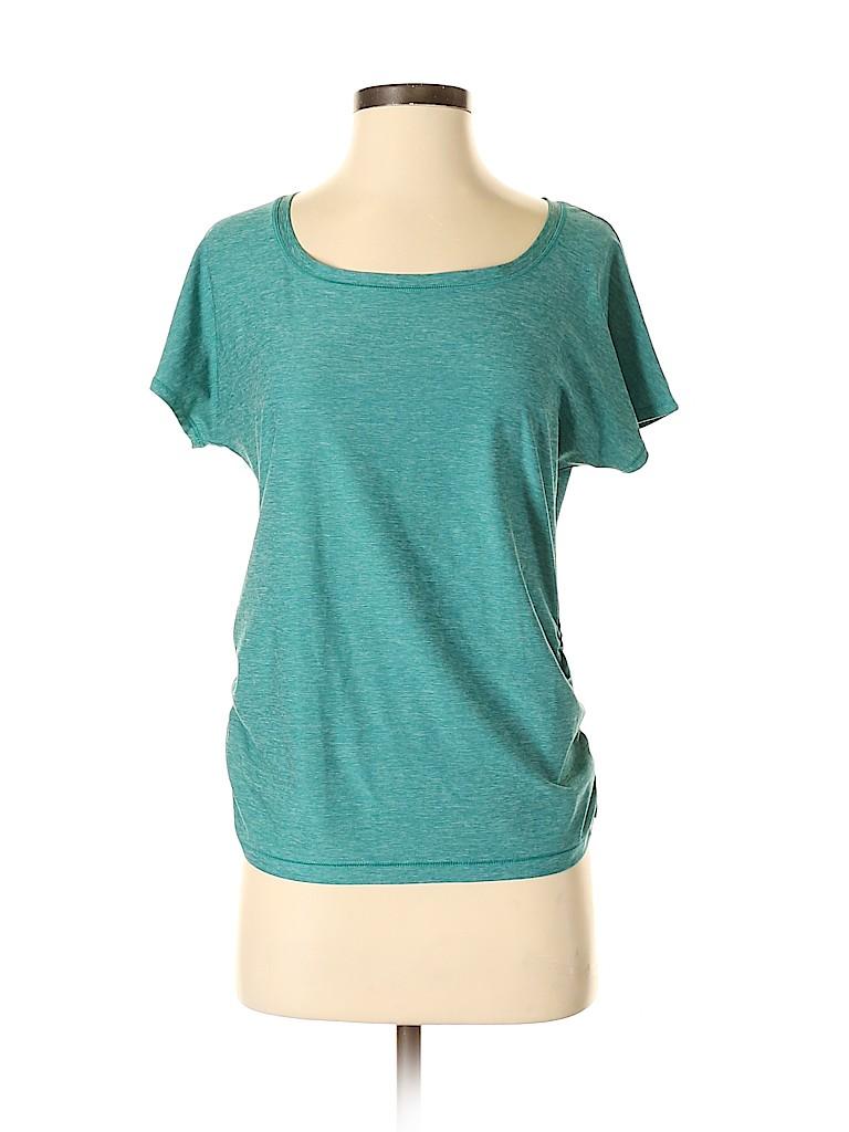 Eddie Bauer Women Active T-Shirt Size S (Petite)