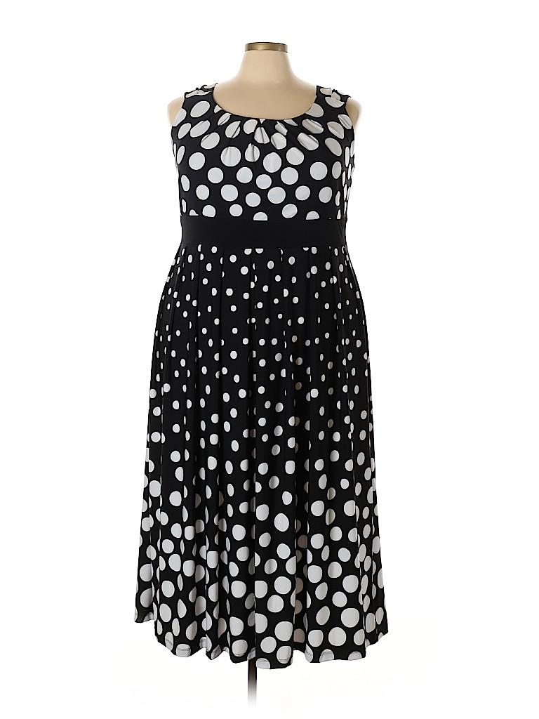 Woman Within Women Casual Dress Size 22 Petite (1X) (Plus)