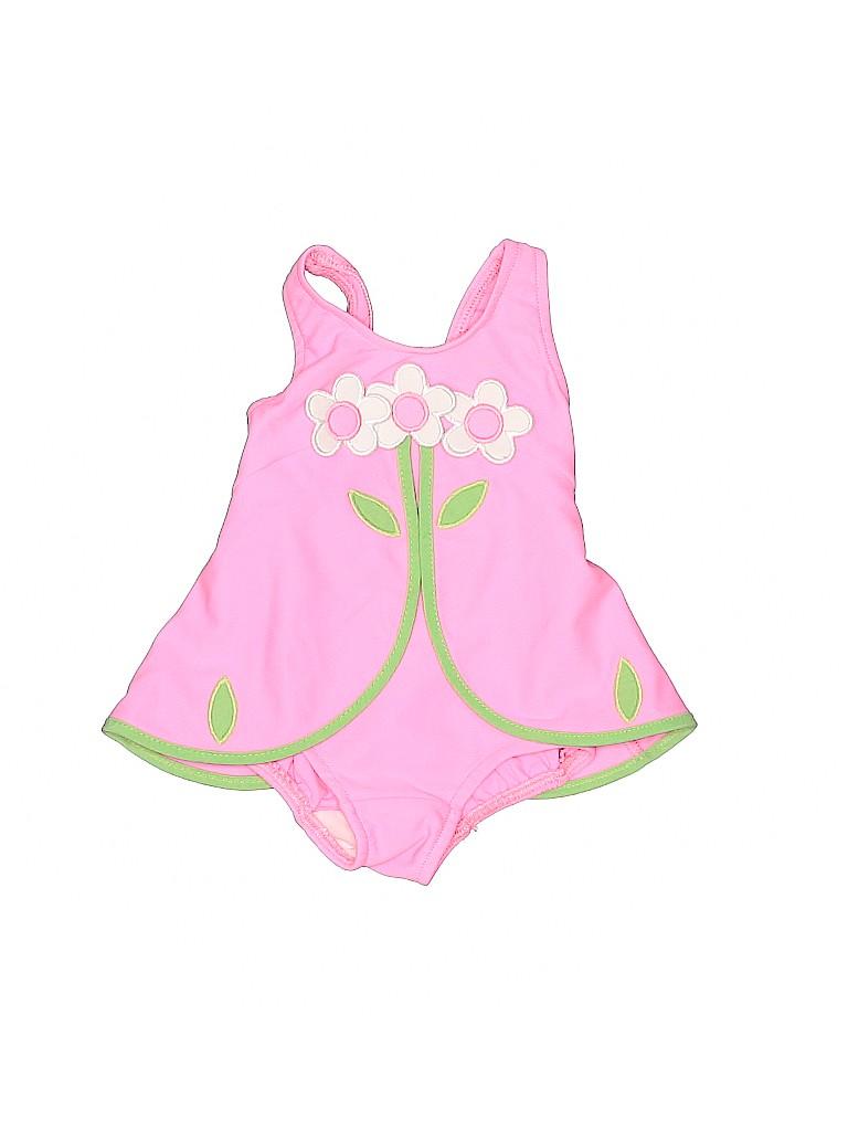 Florence Eiseman Girls One Piece Swimsuit Size 6 mo