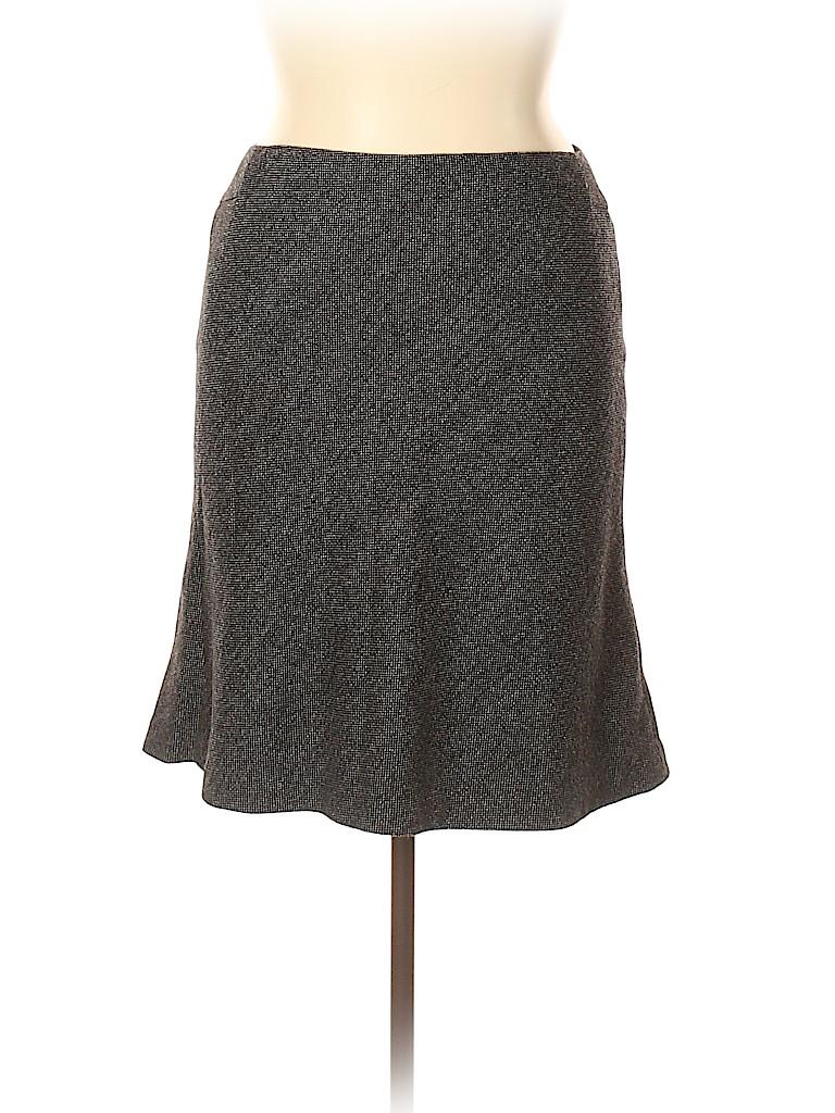 Ann Taylor LOFT Women Wool Skirt Size 14 (Petite)
