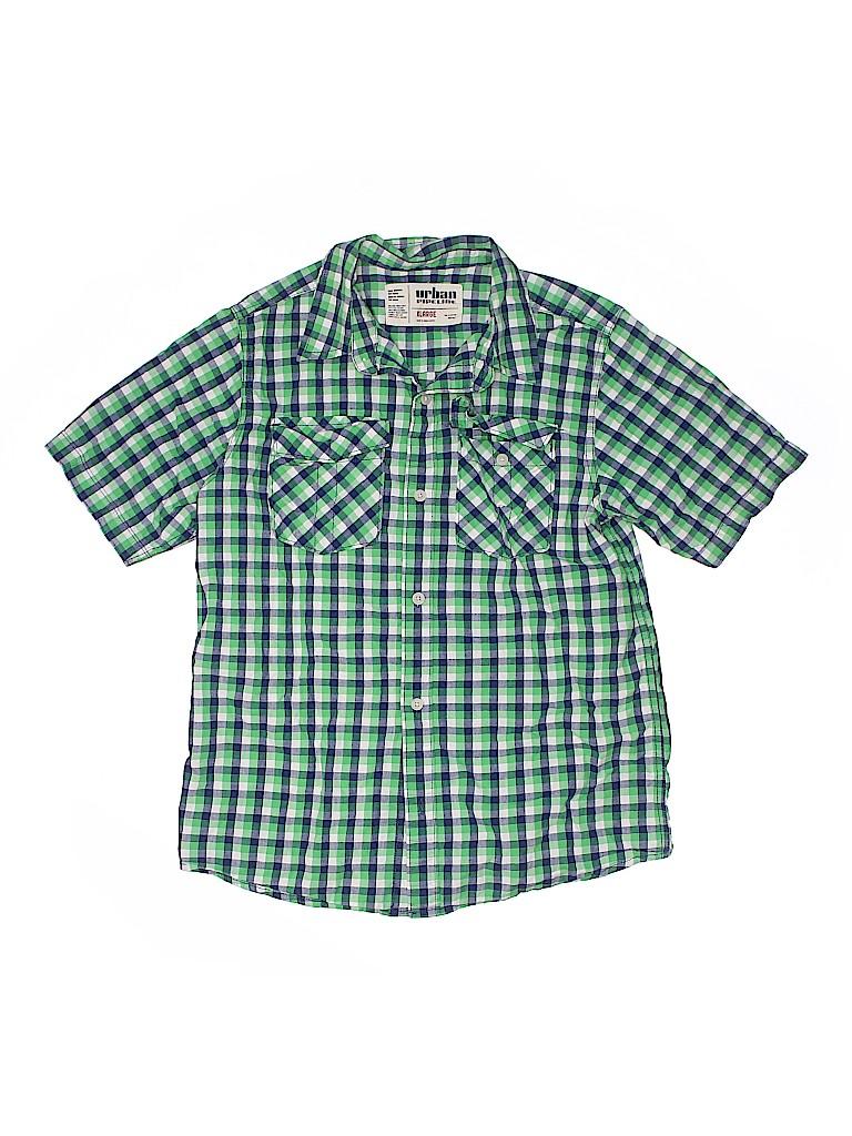 Urban Pipeline Boys Short Sleeve Button-Down Shirt Size X-Large (Kids)