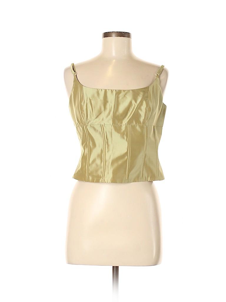 Carmen Marc Valvo Collection Women Sleeveless Blouse Size 8