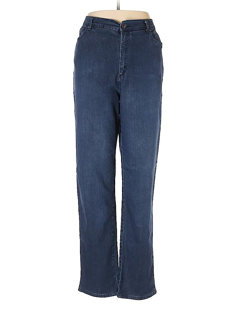 Gloria Vanderbilt Women Jeans Size 16 (Tall)