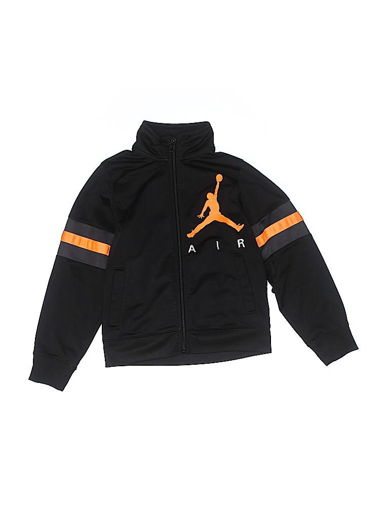 0d499a1bf4c Air Jordan 100% Polyester Black Track Jacket Size 6 - 77% off | thredUP