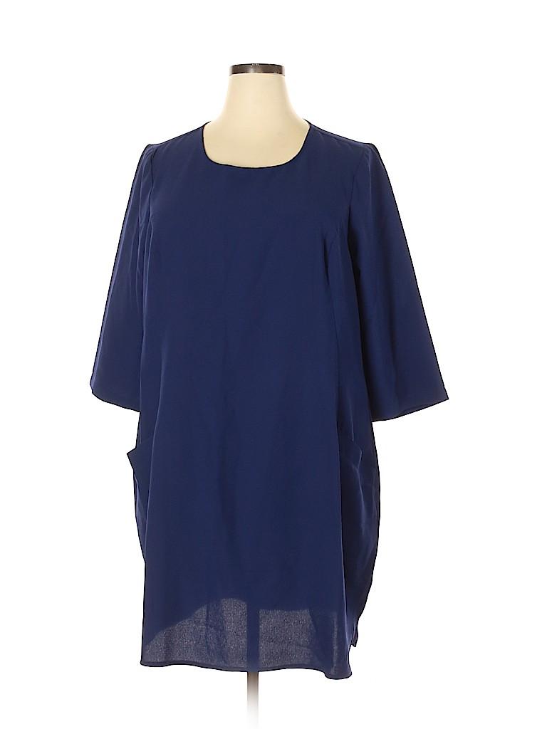 BB Dakota Women Casual Dress Size 2X (Plus)