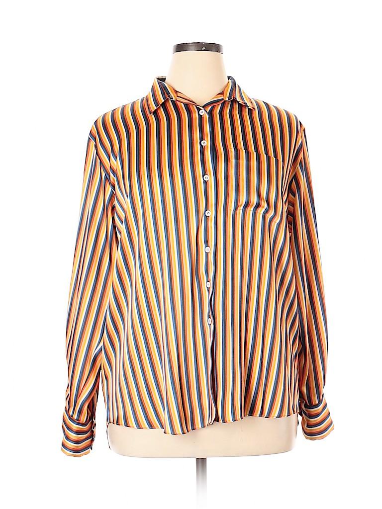 22d78f4c4789d2 Pin it Pin It Button Zara Women Long Sleeve Blouse Size L