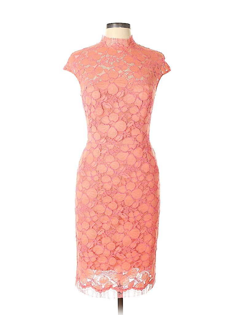 d00c2cb2779 Lela Rose Orange Cocktail Dress Size 6 - 49% off