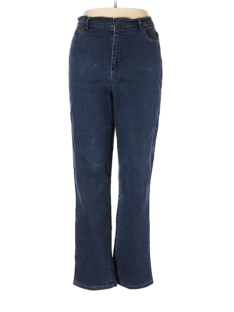 Gloria Vanderbilt Women Jeans Size 18 (Plus)