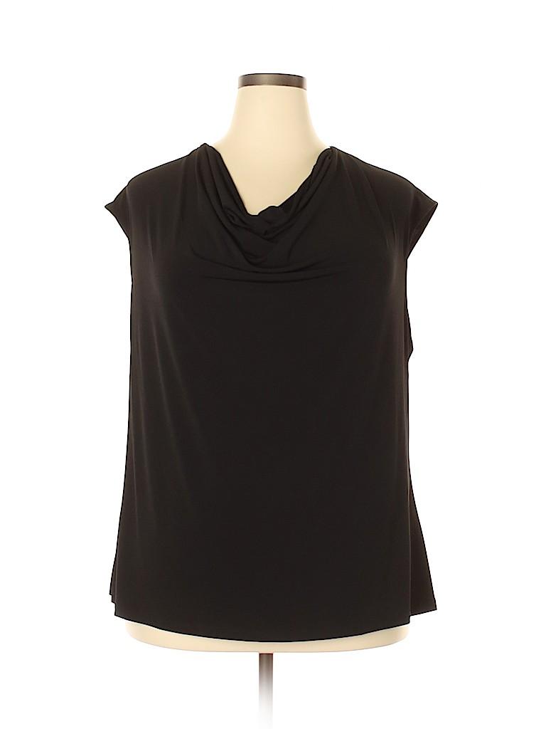 Kasper Women Sleeveless Top Size 2X (Plus)
