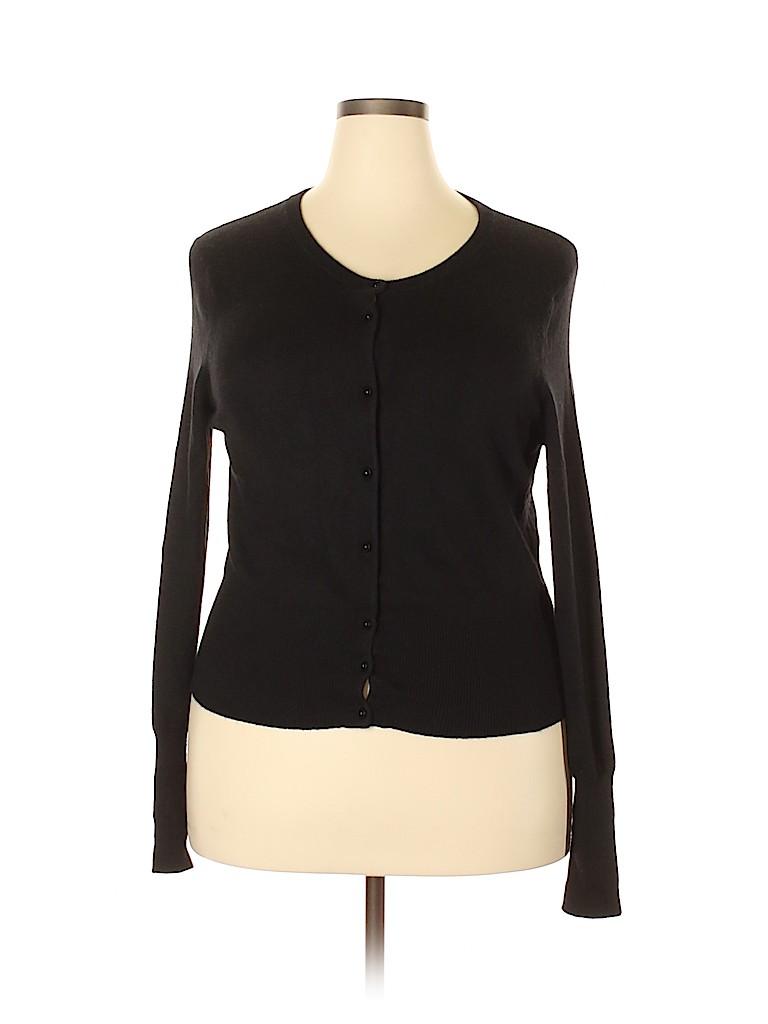 Moda International Women Silk Cardigan Size XL