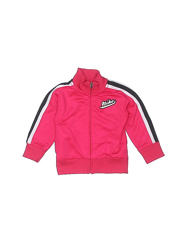 Nike Girls Track Jacket Size 12 mo