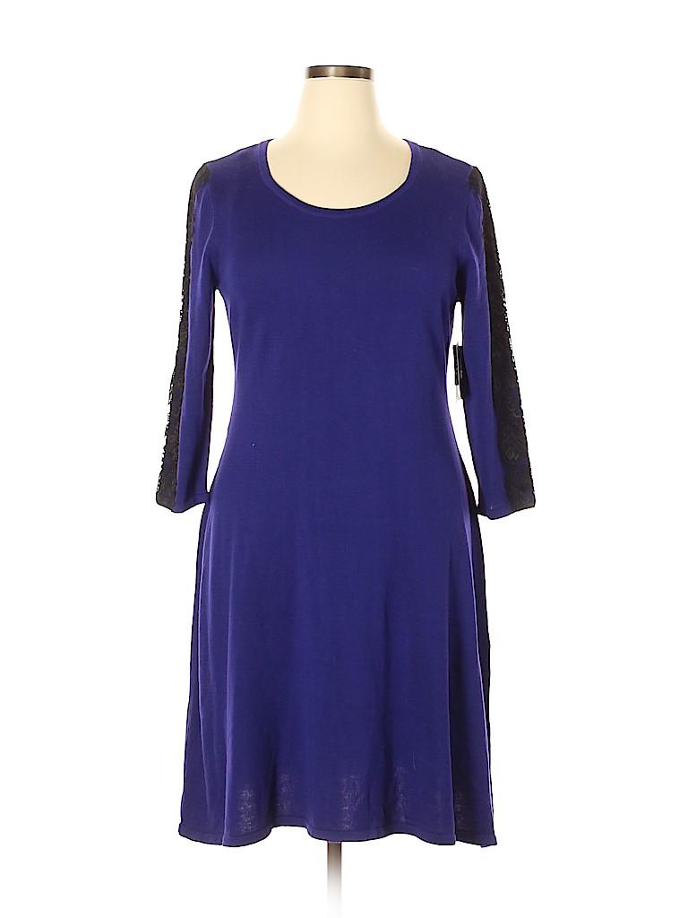 Nine West Women Casual Dress Size XL