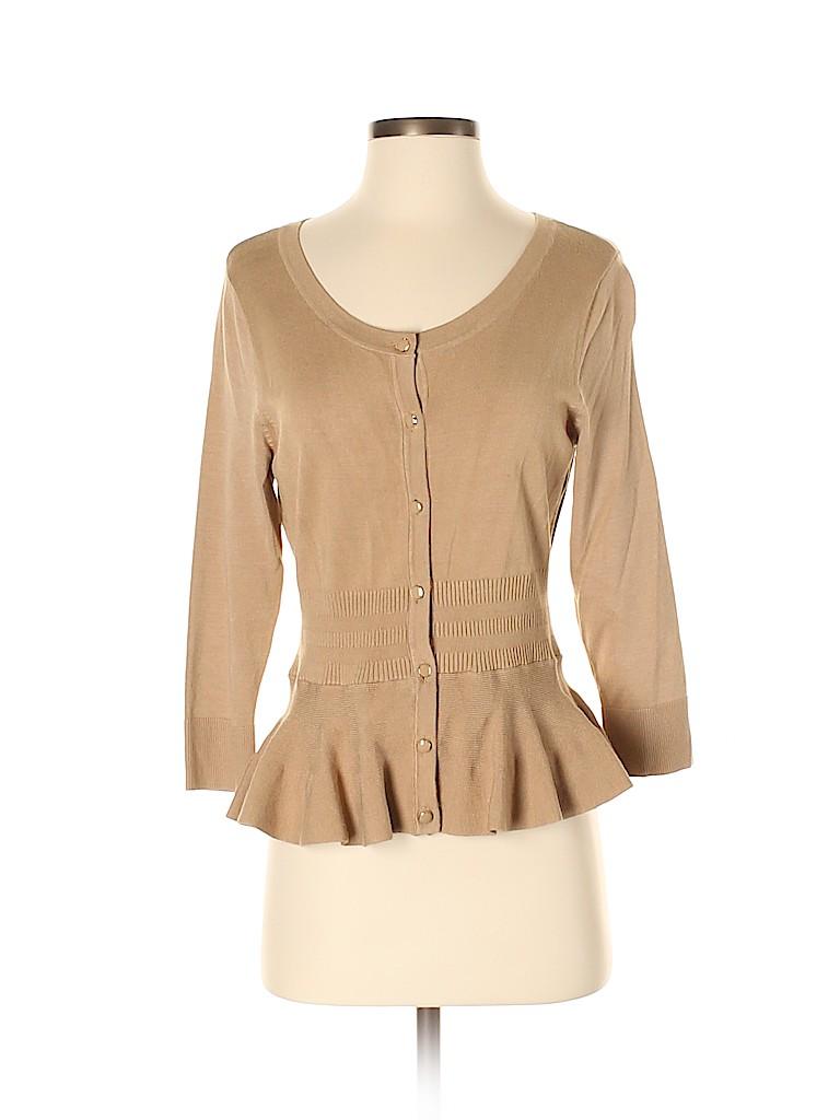 7th Avenue Design Studio New York & Company Women Cardigan Size S
