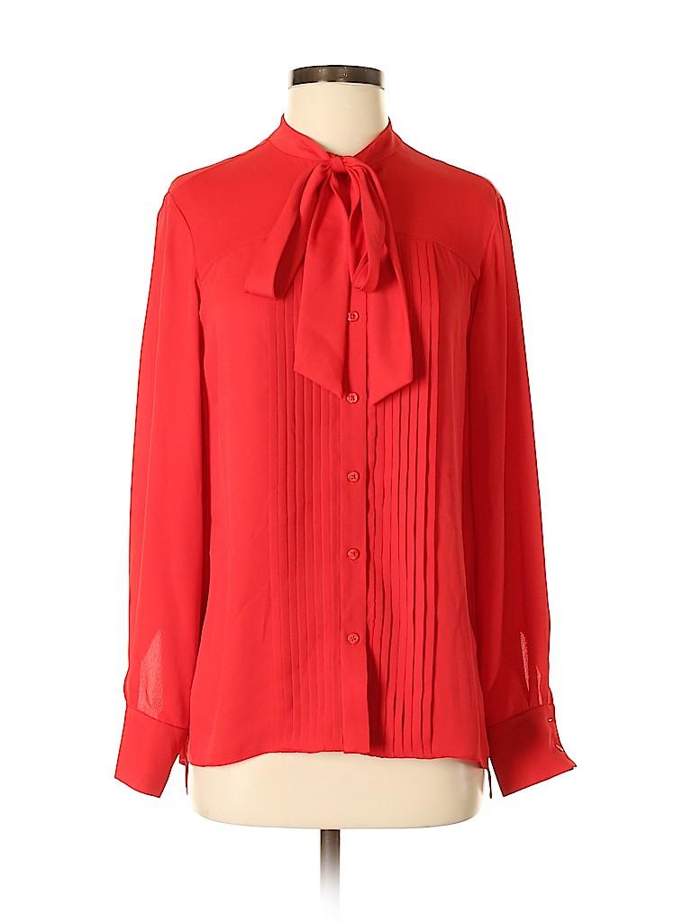 Anne Klein Women Long Sleeve Blouse Size 4