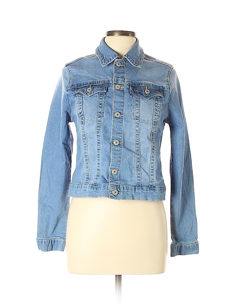 Artisan NY Women Denim Jacket Size L