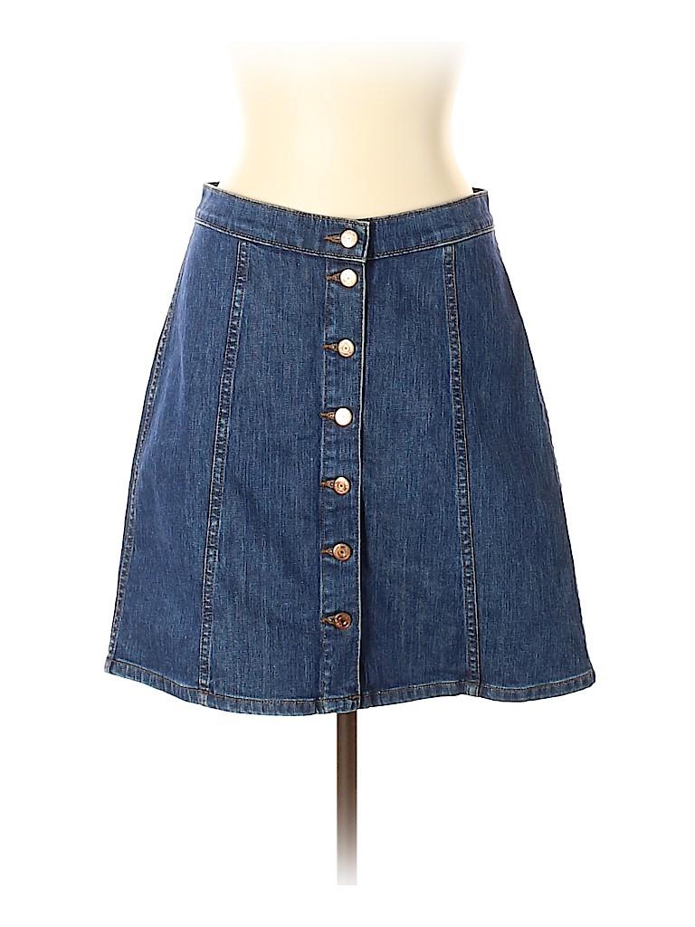 J. Crew Women Denim Skirt 31 Waist