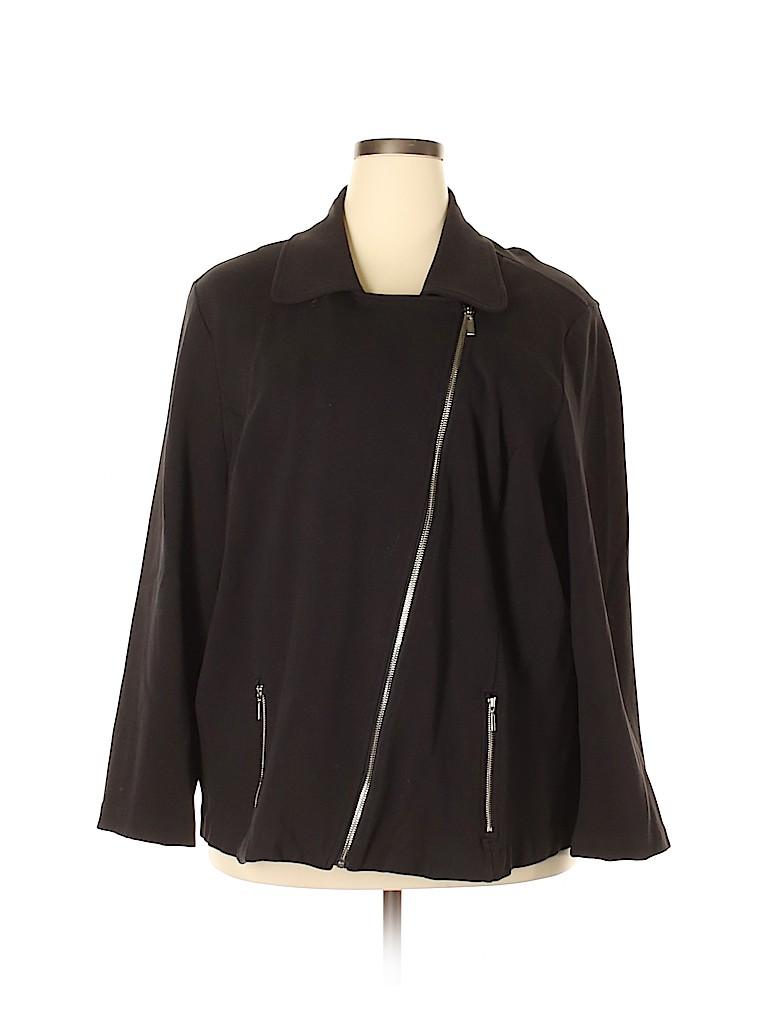 Cj Banks Women Jacket Size 3X (Plus)