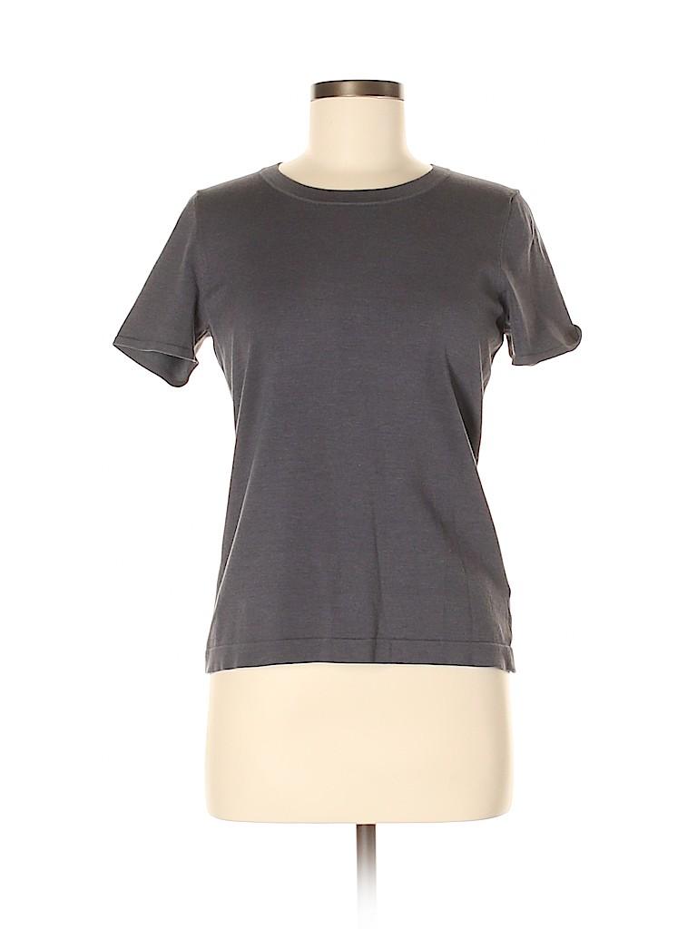 Jones New York Collection Women Silk Pullover Sweater Size M