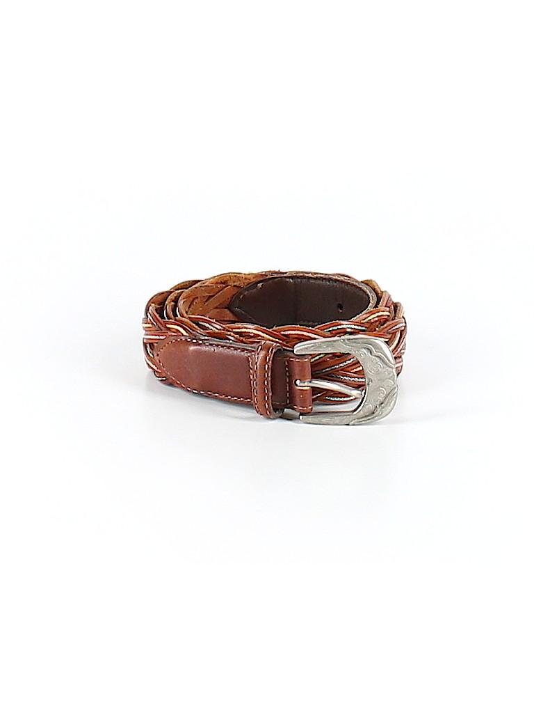Unbranded Women Leather Belt 34 Waist