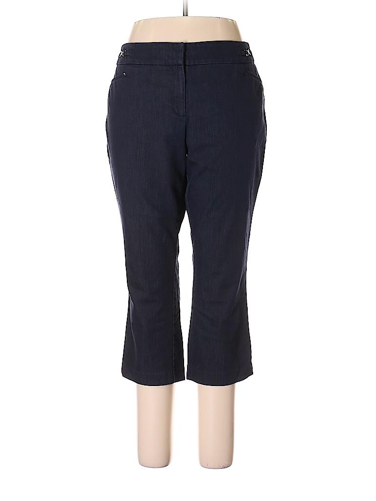 7th Avenue Design Studio New York & Company Women Khakis Size 16