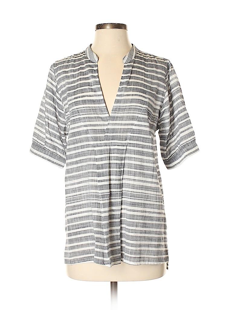 J. Crew Women Short Sleeve Blouse Size S