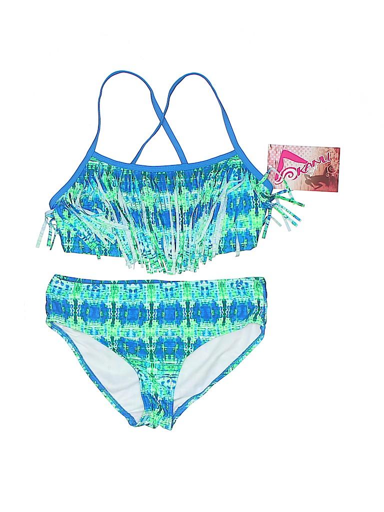 Kanu Surf Girls Two Piece Swimsuit Size 12