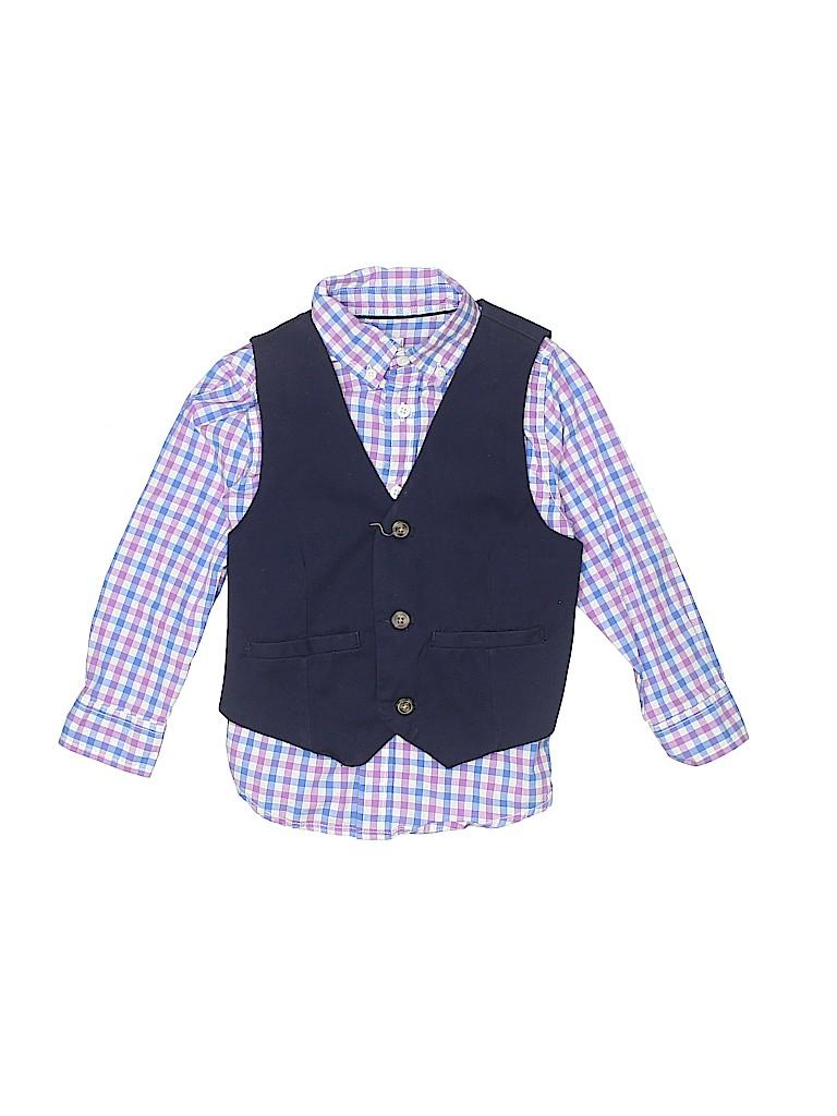 Gymboree Boys Tuxedo Vest Size 4